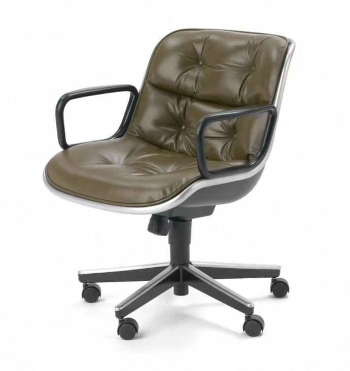 Lederstuhl-Ergonomische Bürostühle