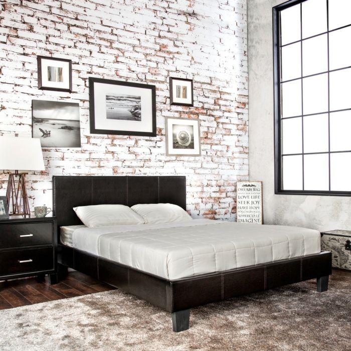 Moderne und gemütliche Schlafzimmereinrichtungen mit Luxusbetten ...