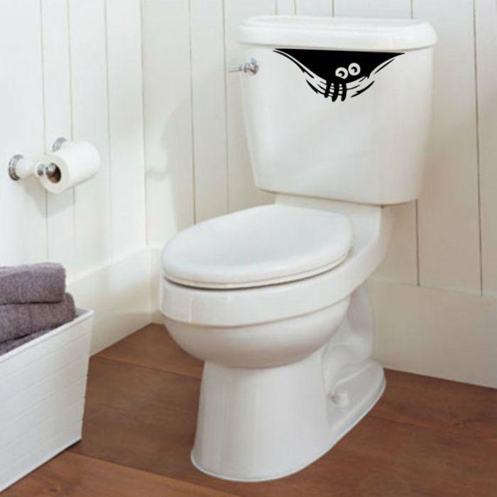 Lustiger Aufkleber-Einzigartige Deko Ideen Badezimmer