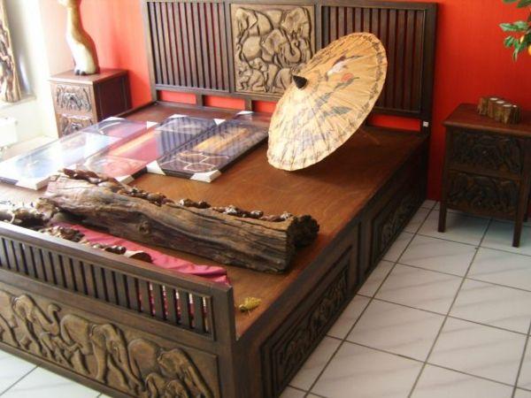 Möbel und Wohnaccsessoires aus Bambus-Bambus Dekoration
