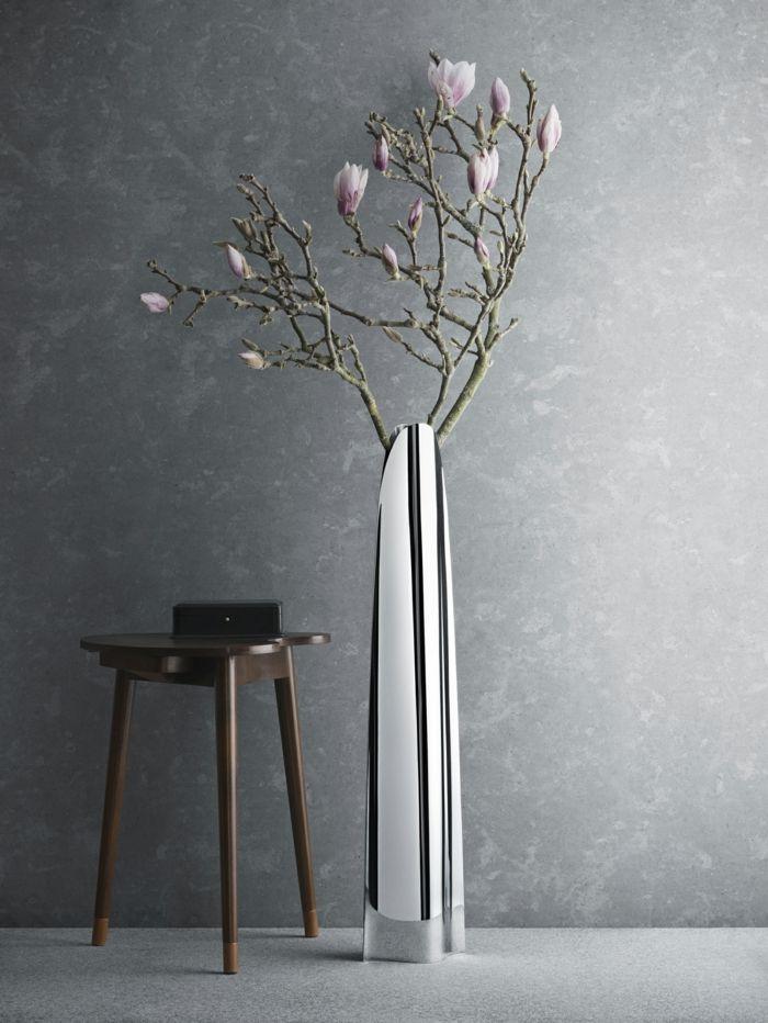 Metall-Dekorative Bodenvasen im zeitgenössischem Design