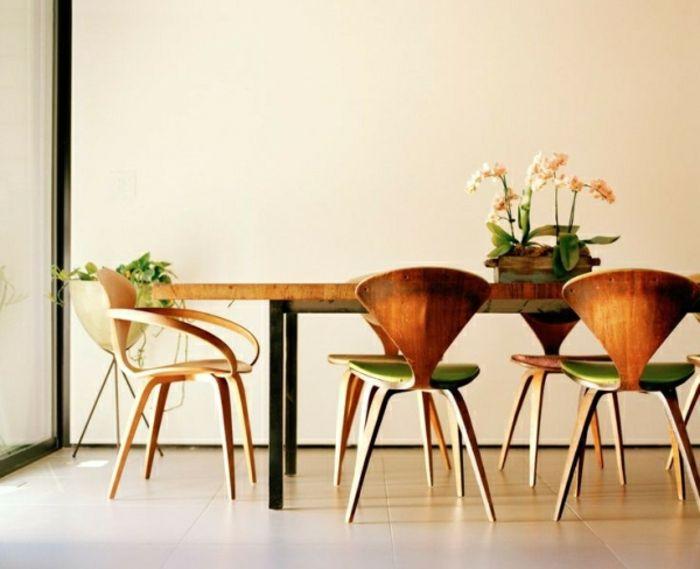 Mid Century Tisch-zeitgenössische Deko Ideen für Ihr Zuhause