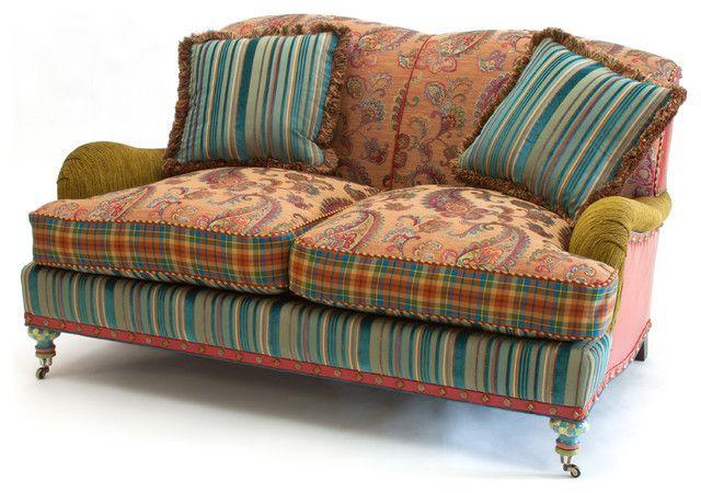 Mid Century buntes Sofadesign-eklektische Sitzmöbel