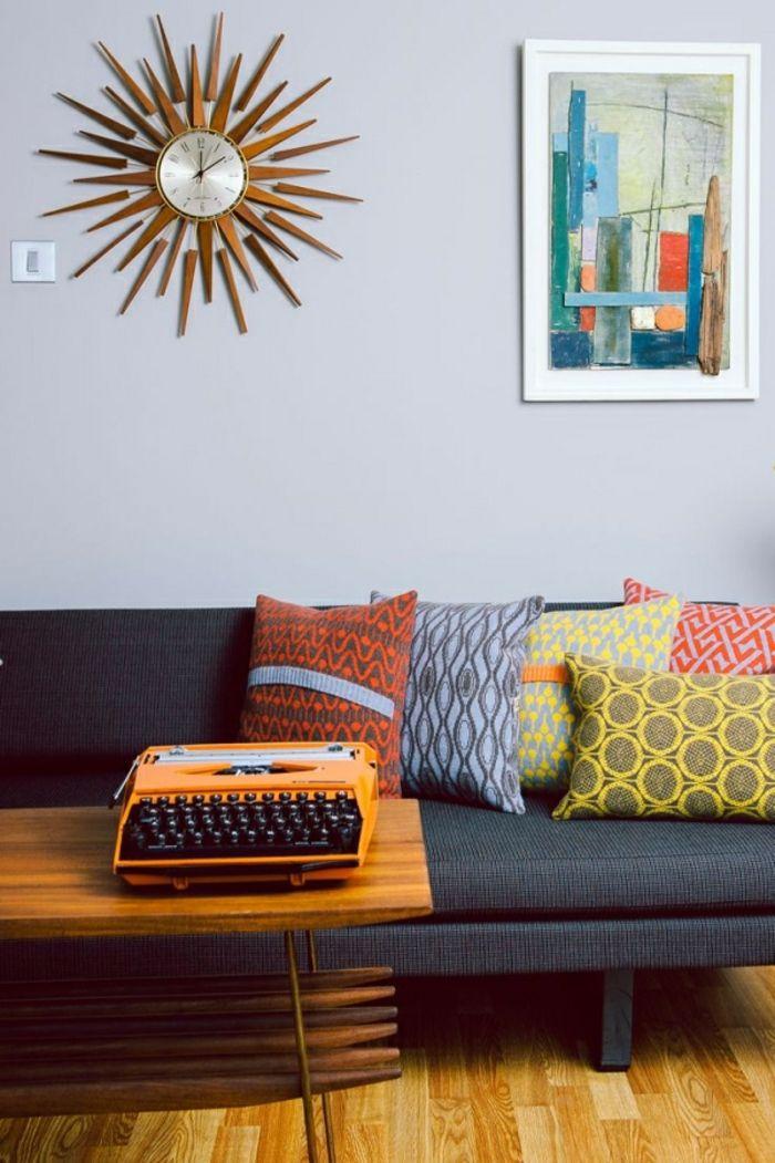 Mid century Wanduhr modern-zeitgenössische Deko Ideen für Ihr Zuhause