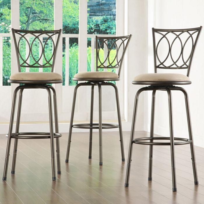 Moderne Barstühle aus Stahl-Barhocker für Ihre Küche