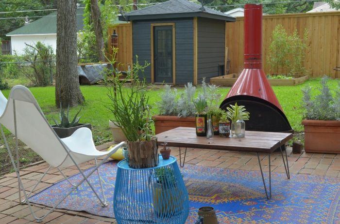Moderne Einrichtung-Gartenmöbel aus Metall