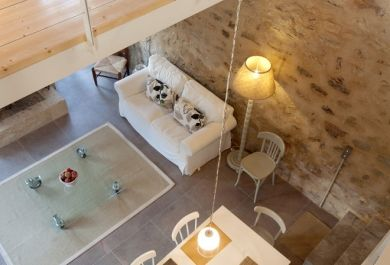 klassische steinwand im innendesign trends fuers esszimmer, klassische steinwand im innendesign: trends fürs esszimmer, Innenarchitektur