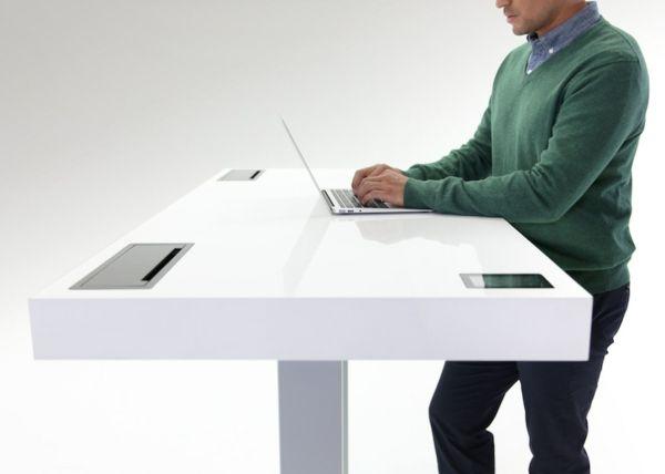 Moderner Arbeitstisch-Arbeitszimmer Möbel