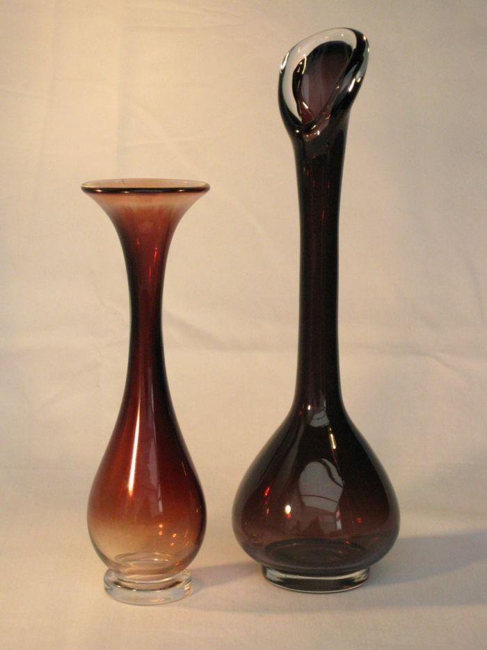 Orrefors Braunglas-Wohndesigns