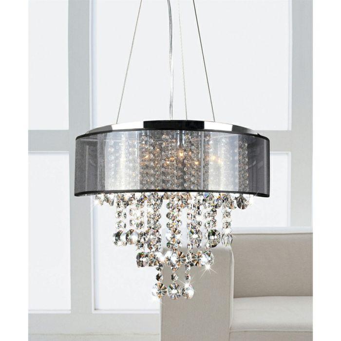 Ovale Deckenleuchte Lampenschirm aus Glas-Die Wirkkraft des Kronleuchters