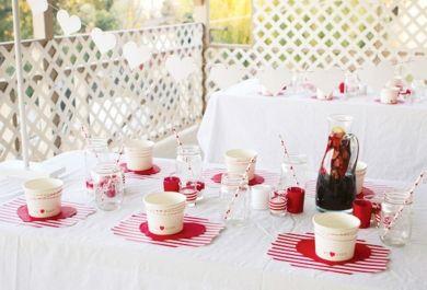 gartenparty in typischen valentinstag farben veranstalten. Black Bedroom Furniture Sets. Home Design Ideas