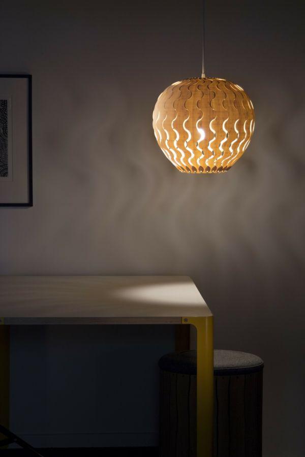 Pendelleuchte mit Lampenschirm aus Bambus-Bambus Dekoration