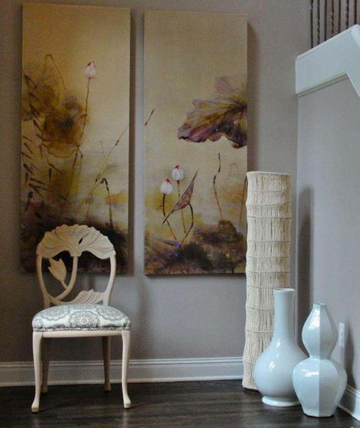 Porzellanvasen im Flur-Dekorative Bodenvasen im zeitgenössischem Design