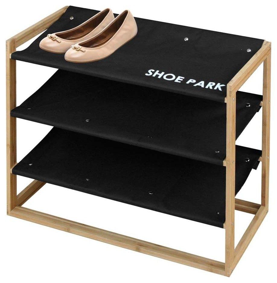 Praktisches Schuhgestell für den Flur-Schuhe Schuhaufbewahrung Organisation offen platzsparend