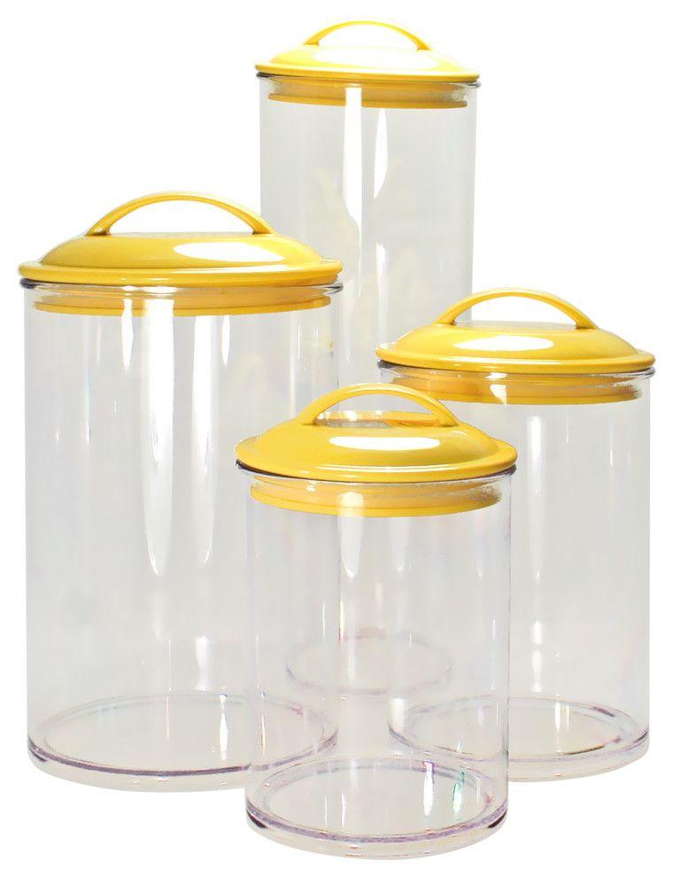 Runde Vorratsdosen aus Glas-Küche Aufbewahrung Ordnungssystem Vorratsdosen