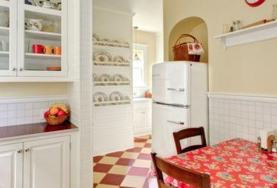 Amerikanischer Kühlschrank Retro Klein : Retro kühlschränke im amerikanischen stil trendomat.com