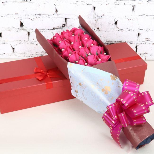 Süßigkeiten beschenken-Ideen zum Valentinstag