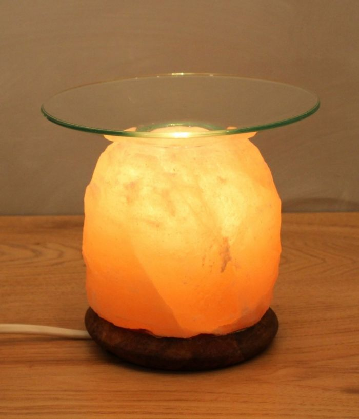 Salzkristalllampe für Aromatherapie-Salzkristalllampe