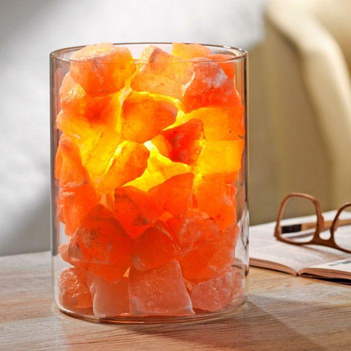 Salzkristalllampe – natürliche Beleuchtung zum Wohlfühlen ...