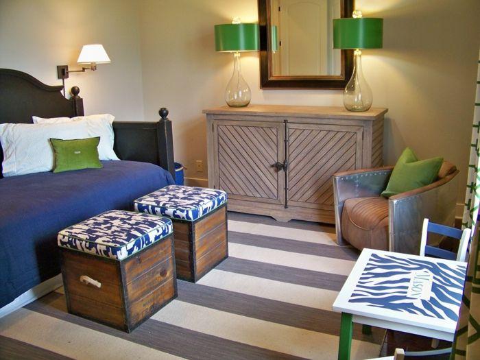Schicke Farbkombination-Kinderzimmer Möbel Gestaltung