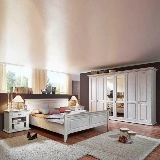 Schlafzimmer Braun Creme