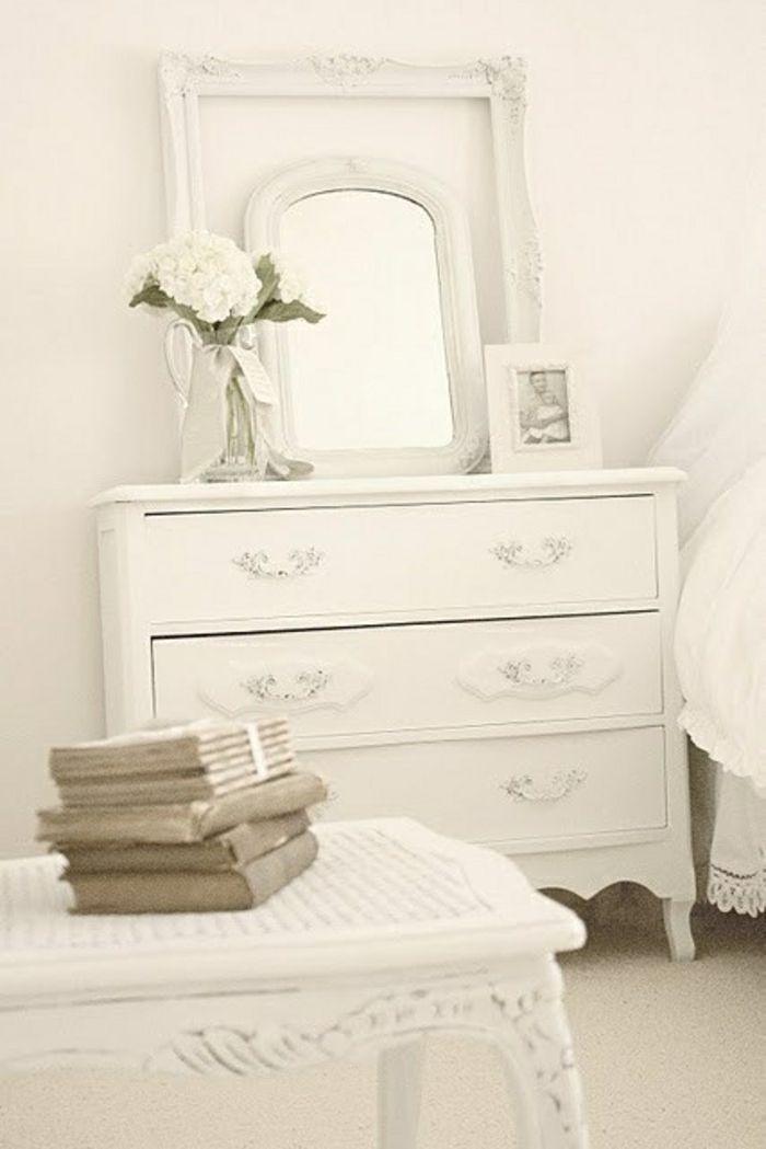 Schlafzimmer in Weiß-zeitgenössische Deko Ideen für Ihr Zuhause