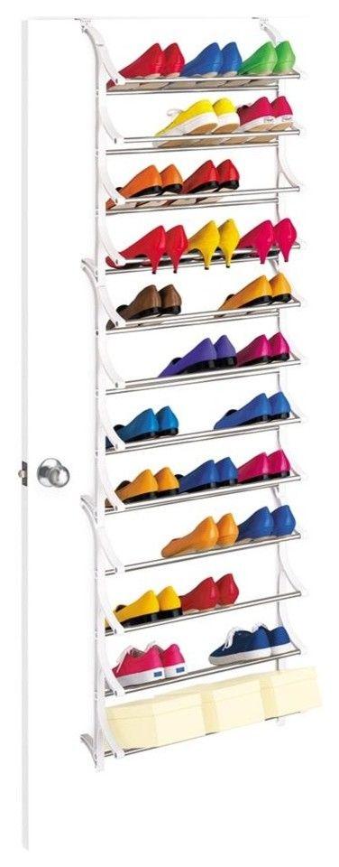 Schuhregal zum Aufhängen an der Tür-Schuhregal an der Tür Schuhaufbewahrung praktisch platzsparend übersichtlich