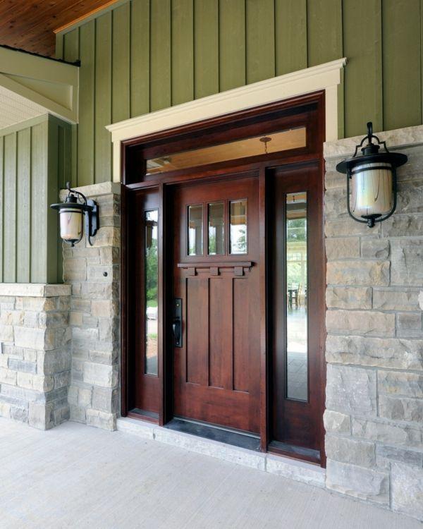 Seitenteile für ausreichendes Tageslicht-Tür mit Seitenteil