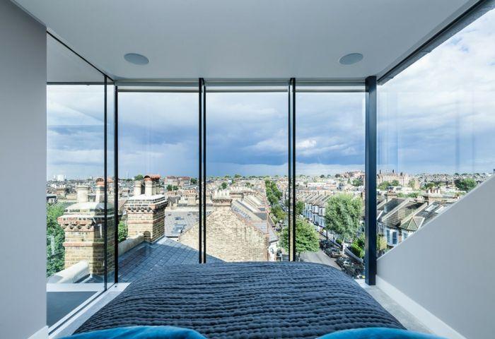 Sichtschutz ist notwendig, insbesondere für bodentiefe Fenster-Sichtschutz Lösungen Privatsphäre Nachbarn