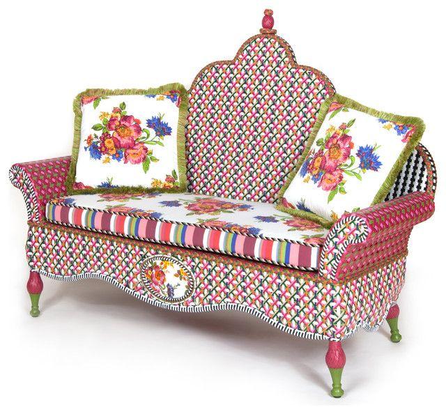 Sofadesign-eklektische Sitzmöbel