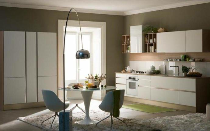 Stehleuchte Metall Esstisch Weiß komplett-Küchenmöbel Design