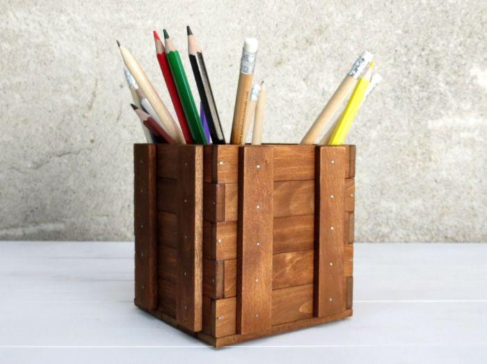 Stifthalter mit robustem Design-Bürobedarf Designer Würfel