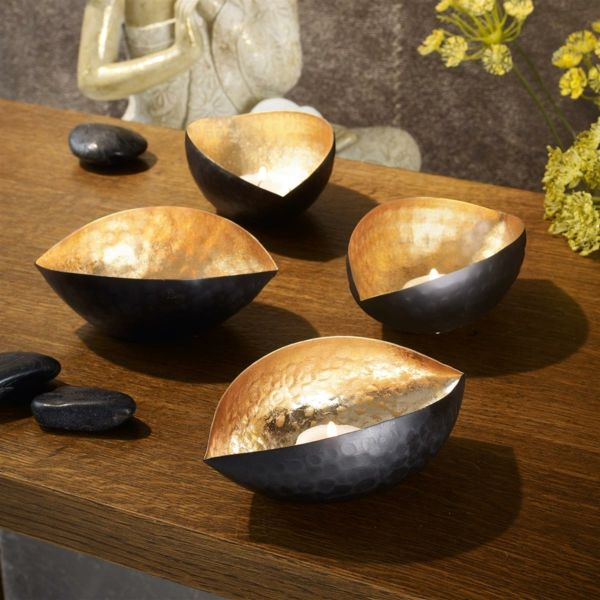 Teelichethalter aus Eisen-Wohnaccessoires Ideen