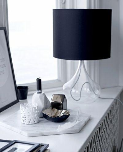 Teelichthalter aus weißem Porzellan-Kerzenhalter modern