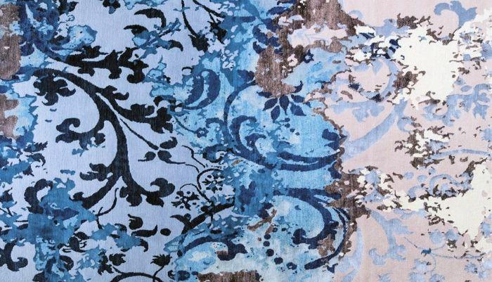 Tibet Teppich Blau-Exotische Teppichideen