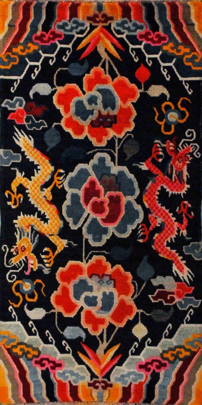 Tibet Teppich antik-Exotische Teppichideen