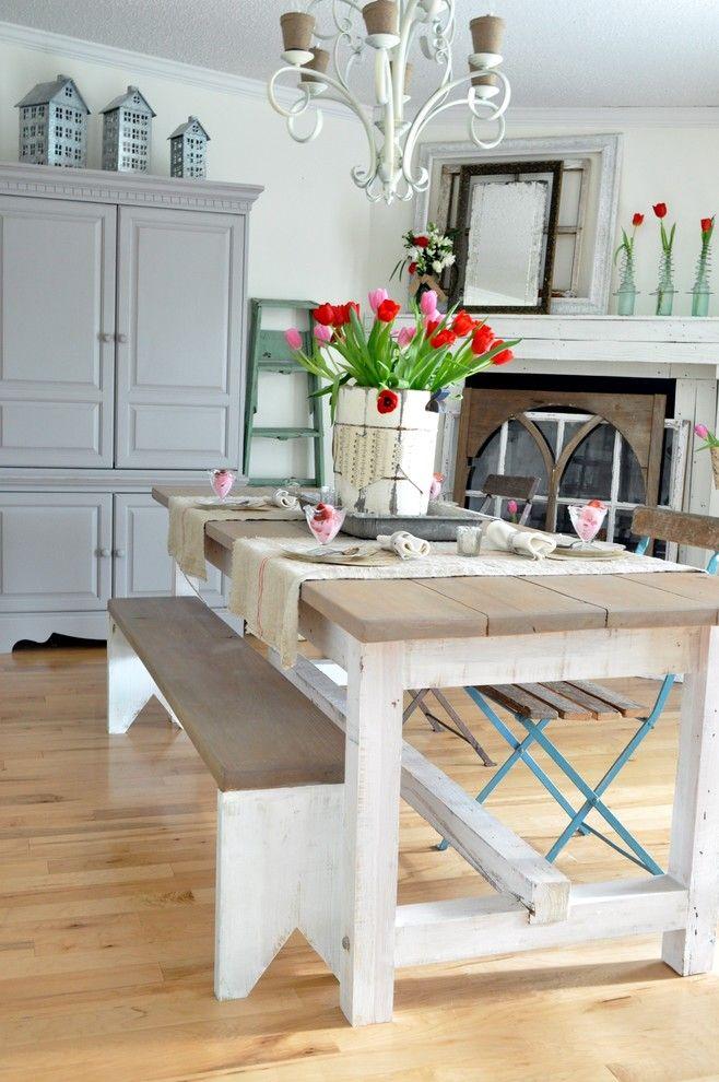 Tisch Dekoration mit Blumen am Valentinstag-Valentinstag Interieur Dekor