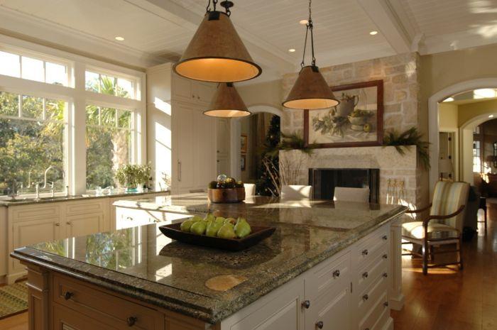 Traditionelle Küche-Arbeitsplatten aus Granit