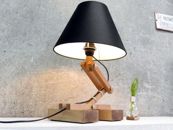 Verstellbare Höhe und diskretes Licht-Tischlampe Arbeitstisch