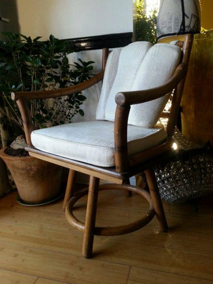 Vintage Holzstuhl-Stuhlkissen
