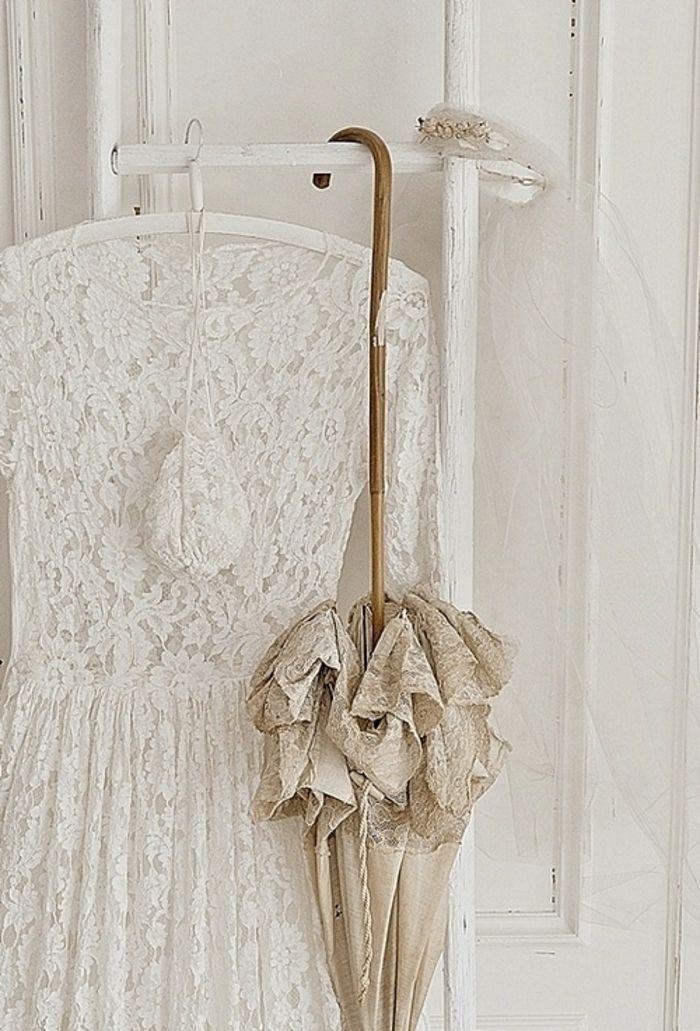 Vintage Kleiderstange Shabby Chic-zeitgenössische Deko Ideen für Ihr Zuhause