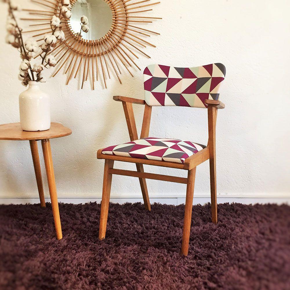 Vintage st hle mit french touch aus den 50er jahren for Sessel aus den 50er jahren