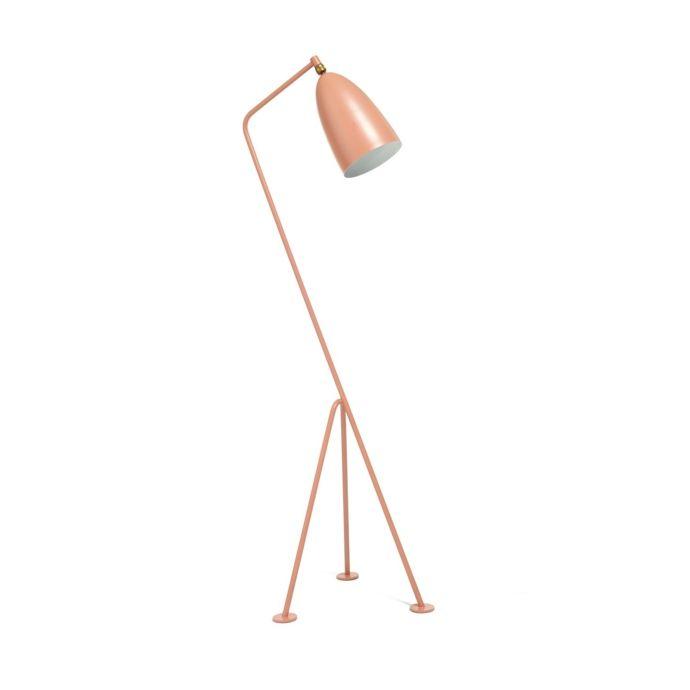 Vintage verstellbare Stehlampe aus Metall-Lampen und Leuchten