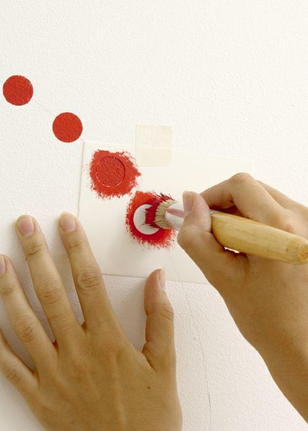 Wände mit Schablonen gestalten_1-idee schablone