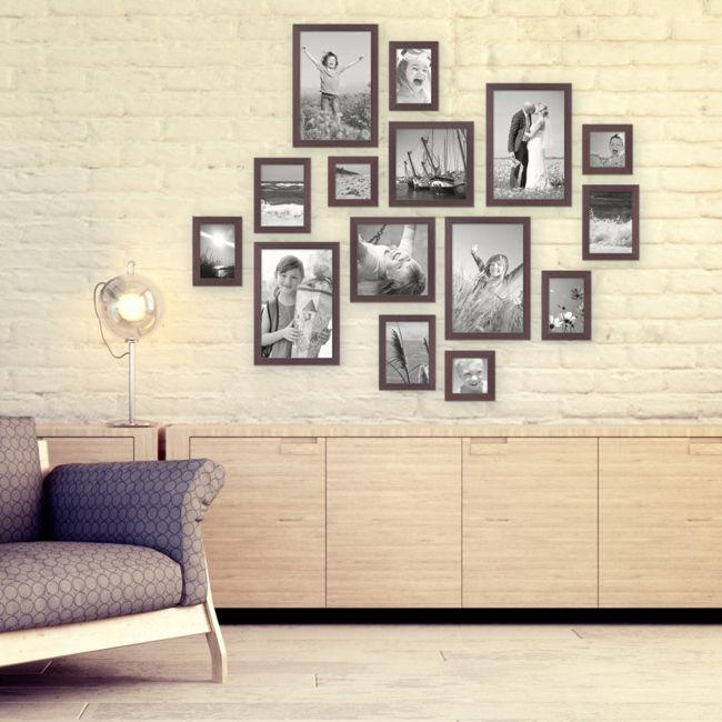 Wand, Bilderrahmen, Sessel, Schrank-Schöne Deko-Ideen