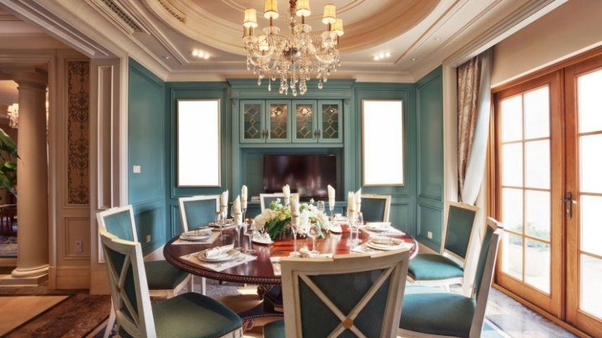 Farbliche Wandgestaltung Esszimmer: Farbliche raumgestaltung fur eine ...