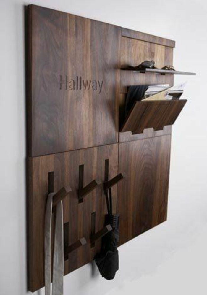 Wandregal aus Holz Geschenkidee-Dielenmöbel