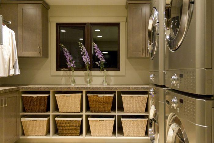 Waschküche Regalsystem Ordnung Haushalt modern-Aufbewahrung