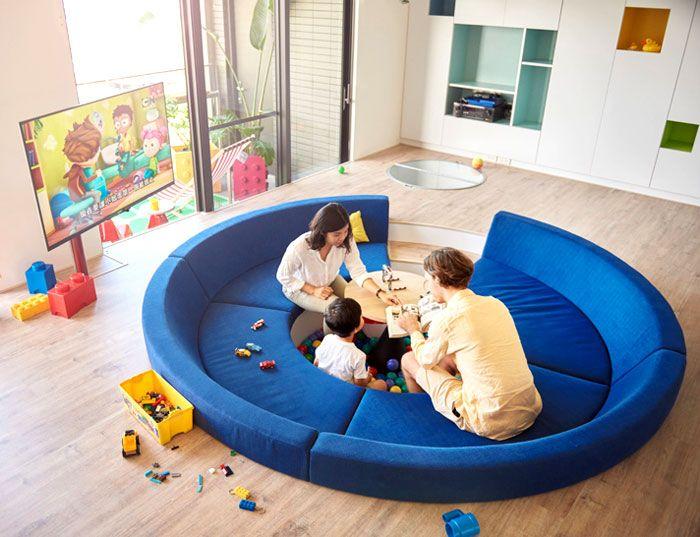 Wohnung in Taiwan nach der Renovierung-Optik moderne Designer Wohnung