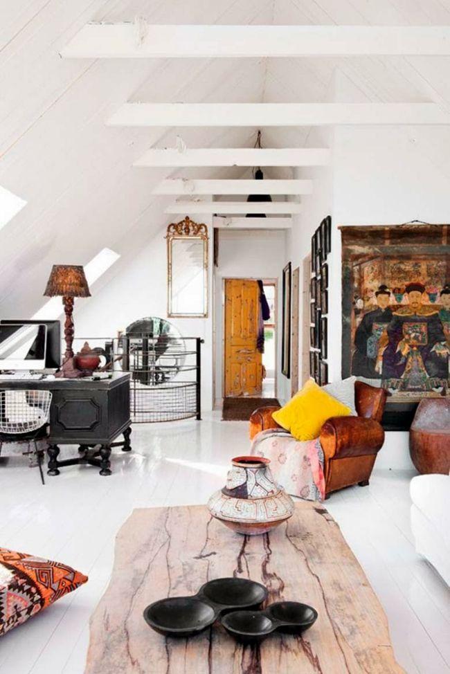 Wohnzimmer in Ethno-Look-Einrichtungstrends